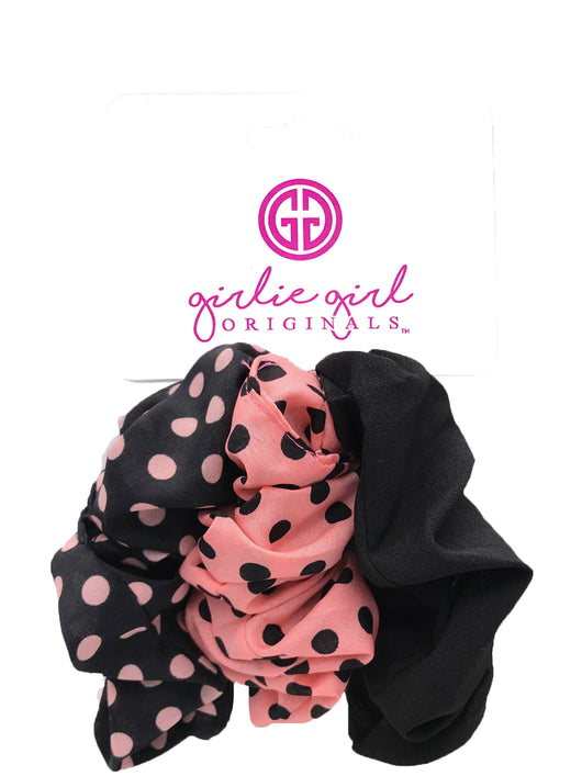 SCR-12-DOT Assorted Scrunchies