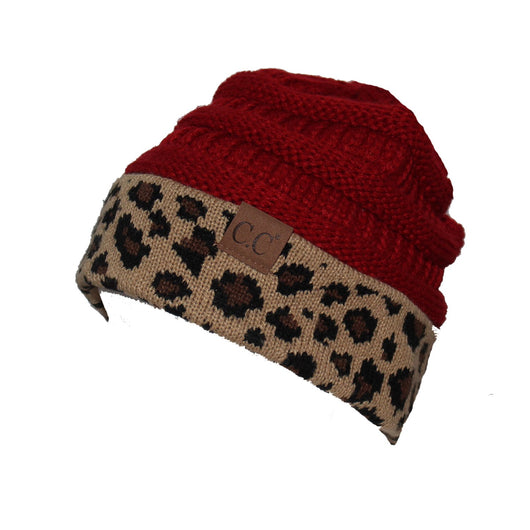 2fc77e534cd CC-45 Red Leopard Beanie – girliegirloriginals