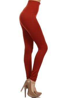 SML-538SD-COP Fleece Leggings