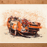 Toyota FJ Cruiser, limited edition screenprint
