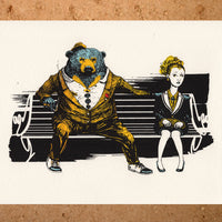 Dress to Impress, limited edition screen print