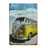 Plaque Freedom Combi VW - Le Precurseur