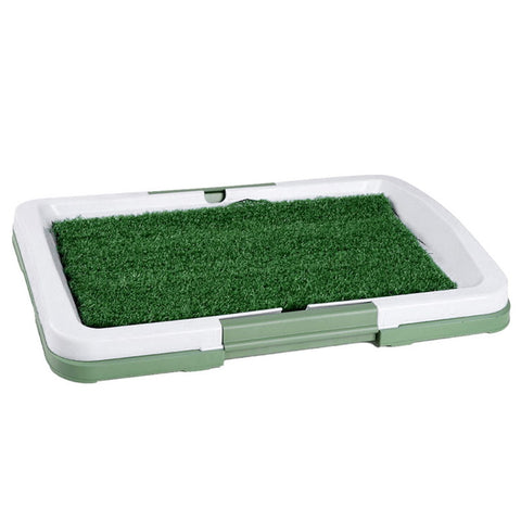 1Set Green Pet Dog Toilet 3 Layers Lawn Toilet Training Indoor Puppy Potty Pad