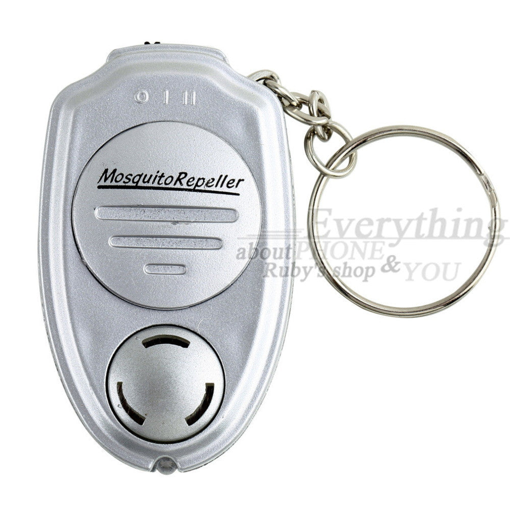 Portable Keychain Mosquito Repeller Electronic Ultrasonic Mosquito PMouse Killer New