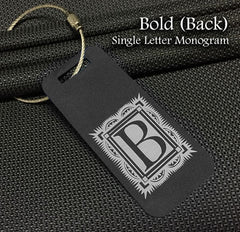 Bold Monogram Back