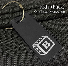 Kids Monogram Back