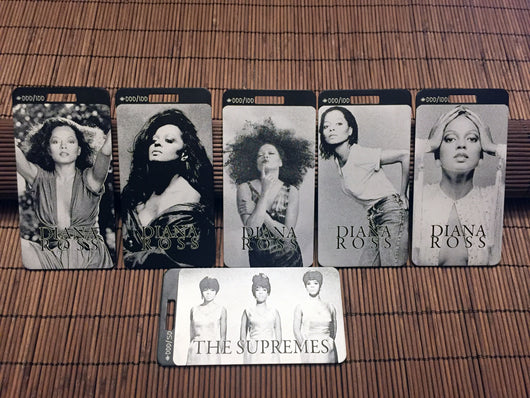 Limited Edition Diana Ross Tag Set - Diana, Mary, & Florence
