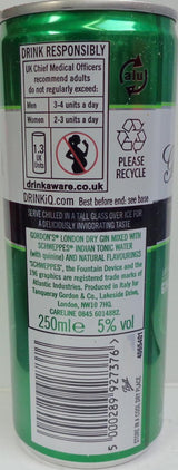 Gordon's London Dry Gin & Tonic (250ml)