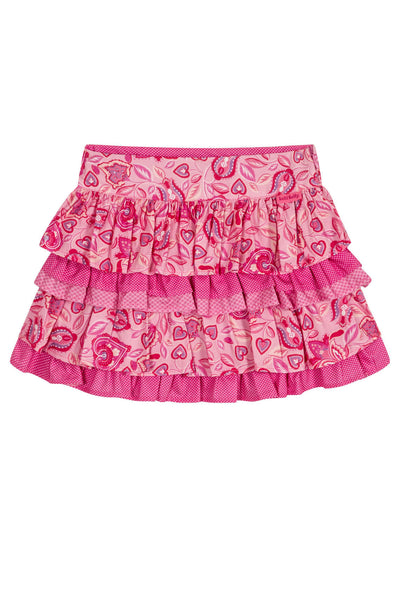 Alma - Tiered skirt