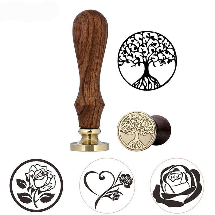 Flowers Wax Seal Stamp