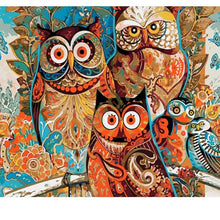 Load image into Gallery viewer, Paint it Numbers - Vintage Owl