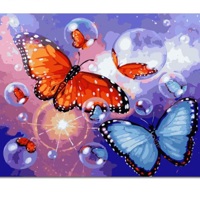 Paint By Numbers - Bubble Butterfly