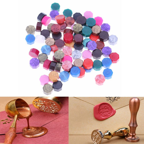 100Pcs/Lot Octagon Sealing Wax