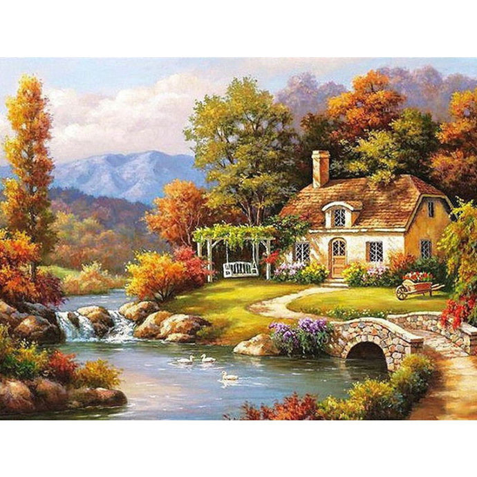 Paint By Numbers - Landscape