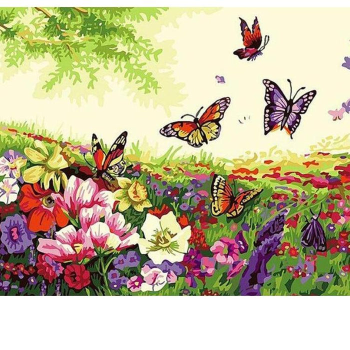Paint By Numbers - Beautiful Day Butterfly