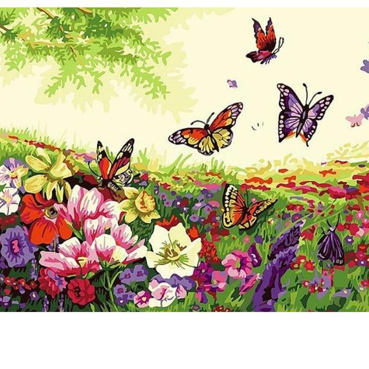 Beautiful Day Butterfly - Paint it™