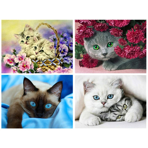 Lovely Cat - 5D Diamond Painting