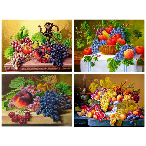 Fruits Mosaic 5D Diamond Painting