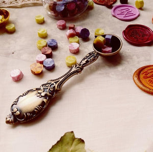 Copper Wax Stick Spoon