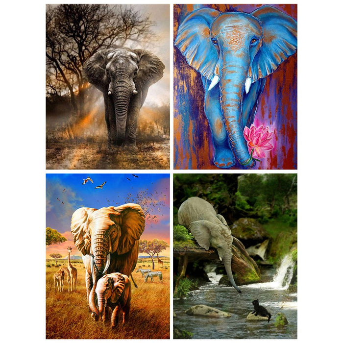 Elephant 5D Diamond Painting