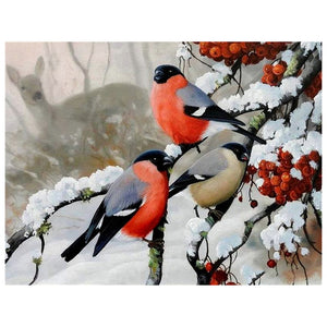 Bird Mosaic 5D Diamond Painting