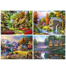 Load image into Gallery viewer, Landscape Mosaic 5D Diamond Painting