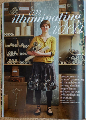 Hannah Nunn in Country Living magazine