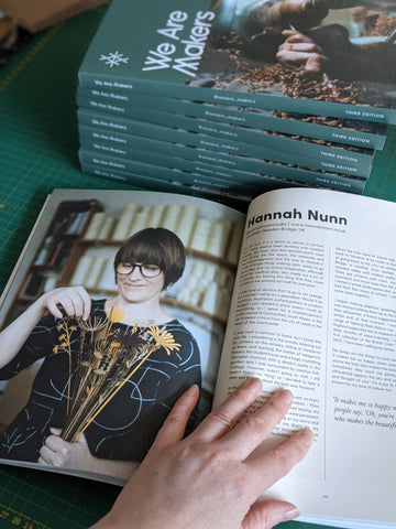 Hannah Nunn in We Are Makers magazine