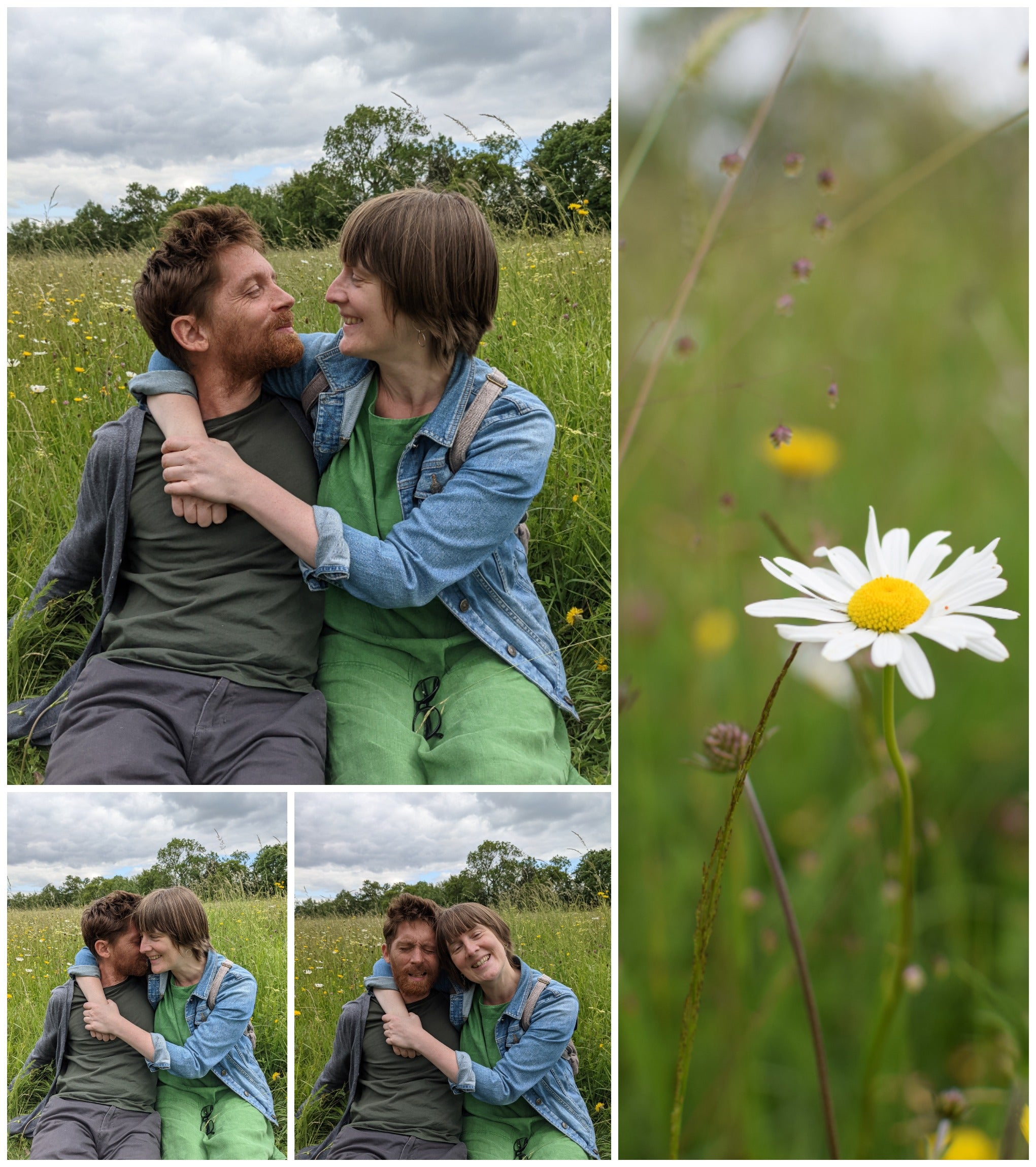 an engagement at Eades meadow