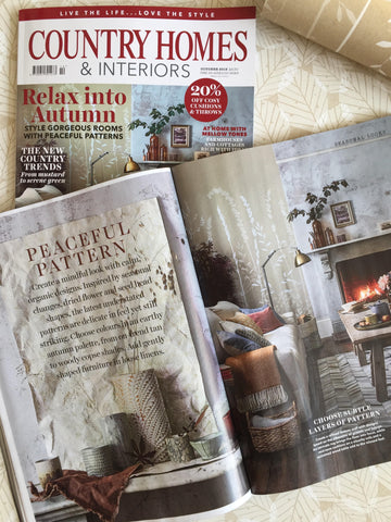 Hannah Nunn wallpaper in Country Homes & Interiors