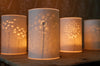 Dandelion Clock Candle Cover