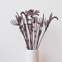 A simple paper meadow bouquet