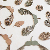 Sycamore Seed hanging decoration