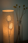 Cylindrical Teasel Table Lamp