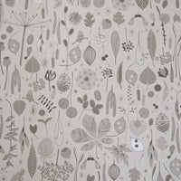 Tiny Treasures Wallpaper in Dove