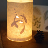 Mistletoe Candle Cover