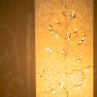 Cylindrical Meadow Grass Table Lamp
