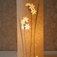 Cylindrical Paperwhite Table Lamp