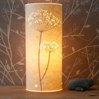 Cylindrical Cow Parsley Lamp