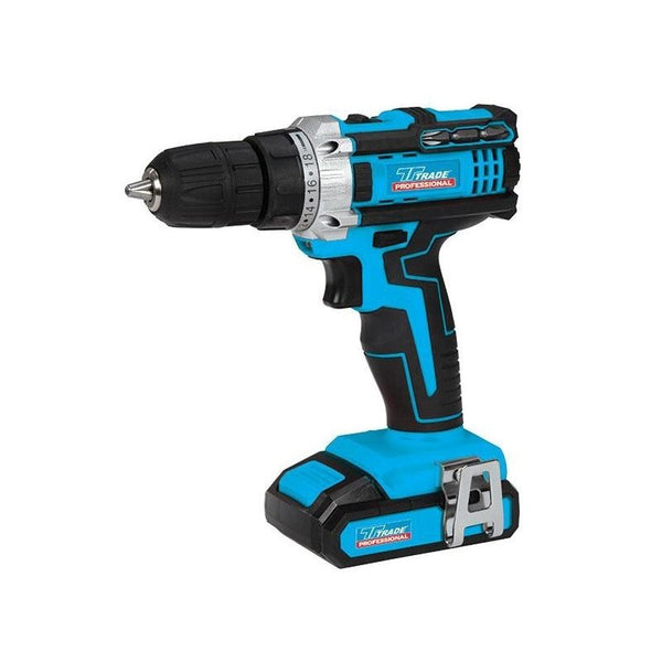 18V TRADE PROFESSIONAL CORDLESS DRILL LITHIUM ION