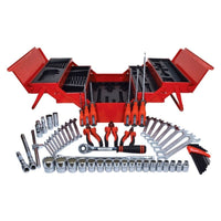 KENNEDY CANTILEVER 62 PIECE TOOLBOX TOOL SET