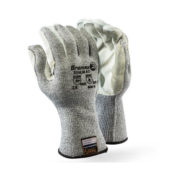 TaeKi5 Grey, Leather Palm - Just Tools Pinetown (PTY) Ltd