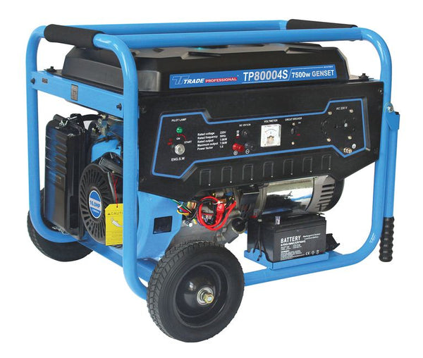 GENERATOR TP 8000 4S-7500W - Just Tools Pinetown (PTY) Ltd