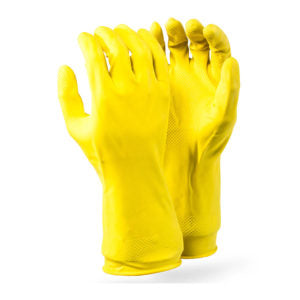 DROMEX YELLOW, Household Gloves, Large
