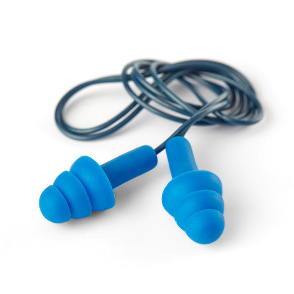 DROMEX RE-USEABLE DETECTABLE BLUE PLUG AND CORD - (SNR 30-32) - Just Tools Pinetown (PTY) Ltd