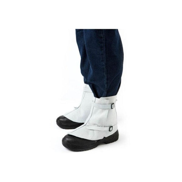 ACE LEATHER ANKLE SPATS WITH HDP BUCKLES