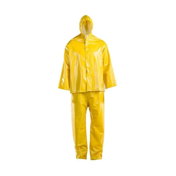 DROMEX HYDRO YELLOW PVC RAIN SUITS
