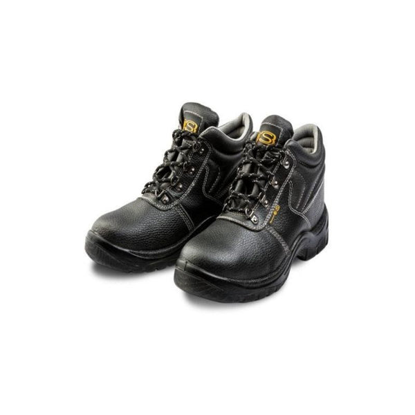DROMEX S3 BLACK SAFETY BOOT, SIZE 3-13