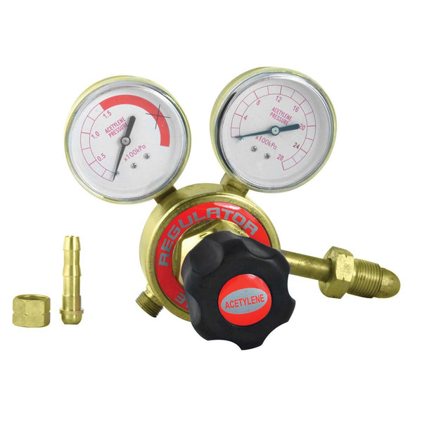 REGULATOR ACETYLENE SINGLE STAGE - Just Tools Pinetown (PTY) Ltd