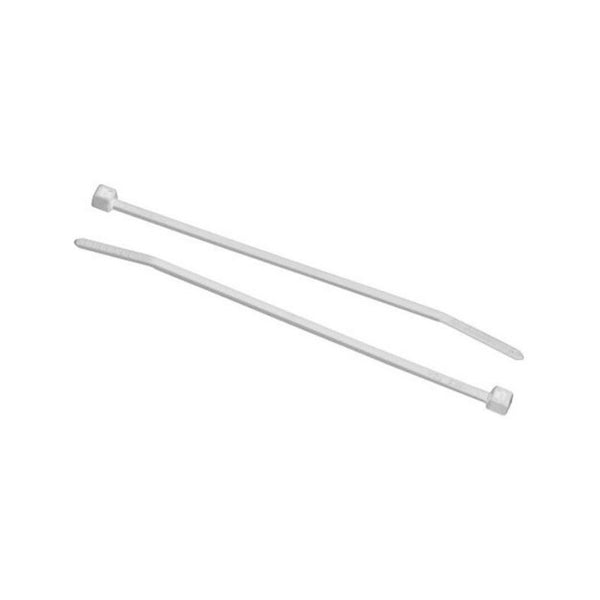 CABLE TIES 198X4.7 WHITE 100'S